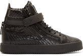 Giuseppe Zanotti Black Diamond London High-Top Sneakers