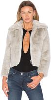 Cheap Monday Pace Faux Fur Jacket