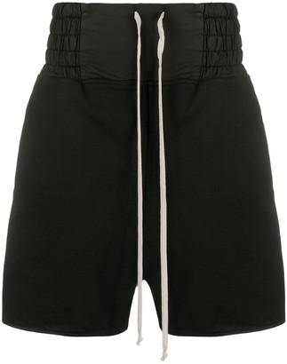 Rick Owens Wide-Leg Track Shorts