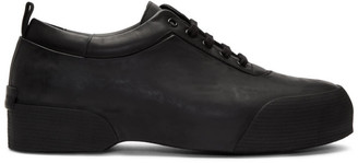 Dries Van Noten Black Rubber Sneakers