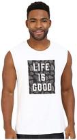 Life is Good Block Muscle Tee