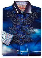 Robert Graham Embroidered Sportshirt