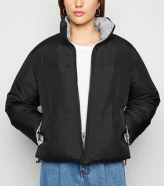 New Look Reversible Boxy Puffer Jacket