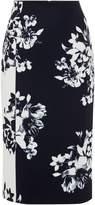 Ellen Tracy High waist floral pencil skirt