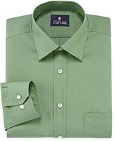 STAFFORD Stafford Travel Long-Sleeve Easy Care Broadcloth Dress Shirt
