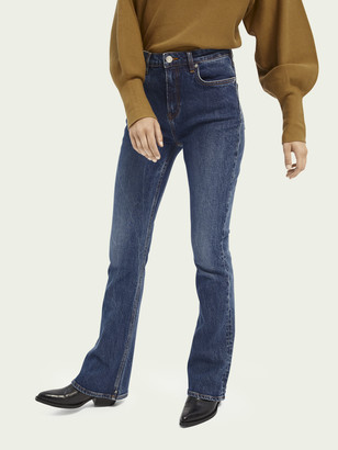 Scotch & Soda The Charm high-rise flared jeans Take Me Out | Women