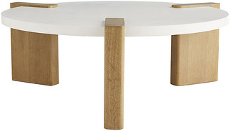 Arteriors Forrest cocktail table - White/Natural