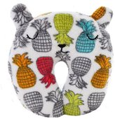 Kylin Express Cute Neck Pillow U Shape Pillow Neck Support Kids Adults Pillows Gift, C