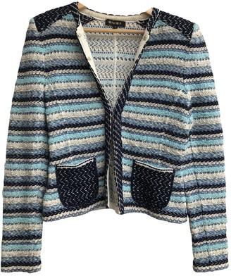 Georges Rech Blue Cotton Jacket for Women