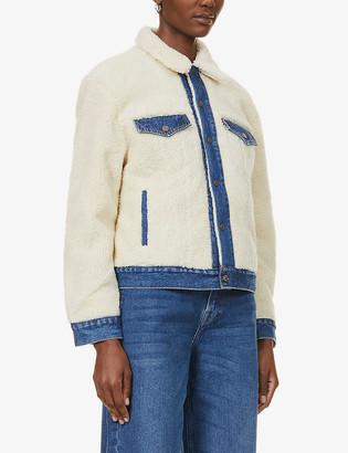 Levi's Ex-Boyfriend Trucker faux-shearling jacket