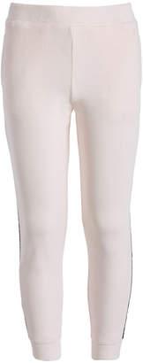 Ideology Big Girls Side-Taped Velour Sweatpants