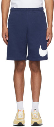Nike Navy Sportswear Club Shorts