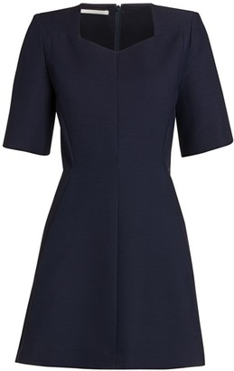 Stella McCartney Wool-Blend Mini Dress