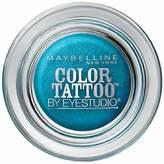 Maybelline Eye Studio Color Tattoo Eyeshadow Tenacious Teal