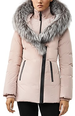 Mackage Adali Fur Trim Down Coat