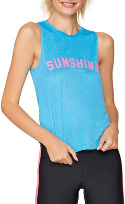 Spiritual Gangster Sunshine Active Muscle Tank