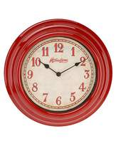Fashion World Hometime Red Wall Clock 30cm