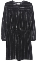 Etoile Isabel Marant Isabel Marant, Étoile Salome Metallic-striped Cotton Dress