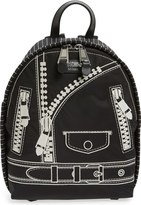 Moschino 'Biker Jacket' Nylon Backpack