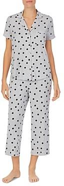 Kate Spade Polka Dot Capri Pajama Set - 100% Exclusive