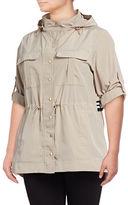 Calvin Klein Plus Snap-Front Jacket