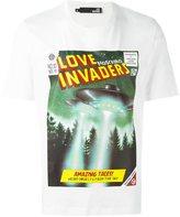 Love Moschino 'Love Invaders' T-shirt