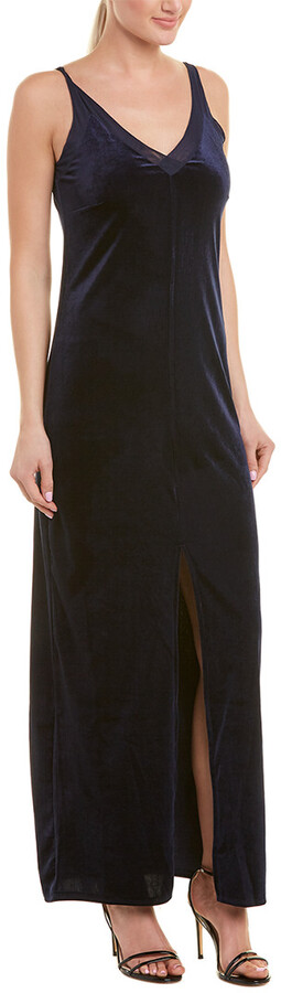Thumbnail for your product : Romeo & Juliet Couture Velvet Maxi Dress