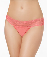 B.Tempt'd b.adorable Lace-Waistband Thong 933182