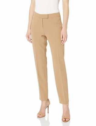 Anne Klein Women's Crepe Slim Leg Pant