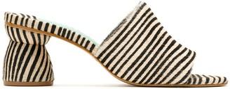 Blue Bird Shoes block heeled Zefiro mules