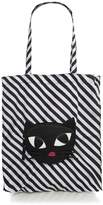 Lulu Guinness kooky cat foldaway shopper