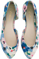 Cath Kidston Large Painted Pansies Formal Pumps