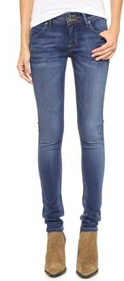 Hudson Women's Collin Supermodel Midrise Skinny Flap Pocket Jean