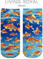 LIVING ROYAL Goldfish Glitter Socks
