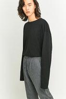Loom Black Tuck-in Long-sleeve T-shirt