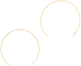 Rebecca Minkoff Hoop Threader Earrings