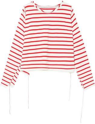 MM6 MAISON MARGIELA Striped Cotton Top