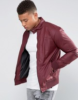 Firetrap Waxed Harrington Jacket