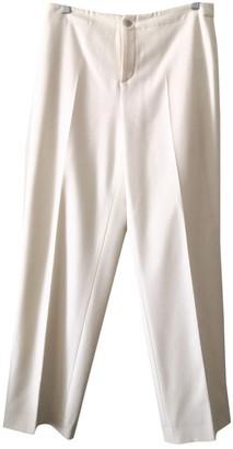 Ralph Lauren White Cashmere Trousers for Women