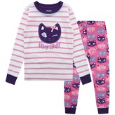 Hatley HatleyGirls Silly Kitties Applique Pyjamas
