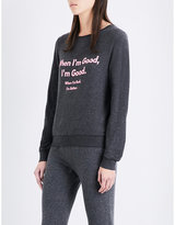 Wildfox Couture When I'm Good stretch-knit jumper