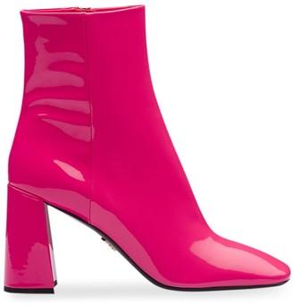 Prada square-toe boots