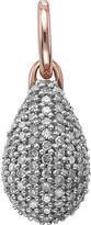 Monica Vinader Stellar 18ct rose gold-plated vermeil and diamond pendant
