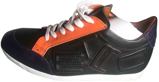 Etro Multicolour Leather Trainers