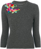 Ermanno Scervino embroidered jumper - women - Cashmere/Virgin Wool - 40