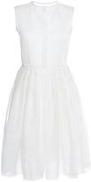 Martin Grant Linen Silk Sleeveless Shirt Dress