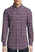 Brunello Cucinelli Plaid Cotton Sportshirt