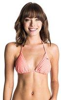 Roxy Women's Hazy Daisy Tiki Tri Bikini Top