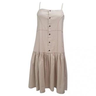 Non Signã© / Unsigned Beige Linen Dresses