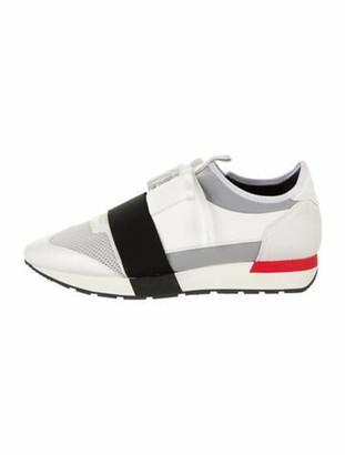 Balenciaga Race Runner Chunky Sneakers White